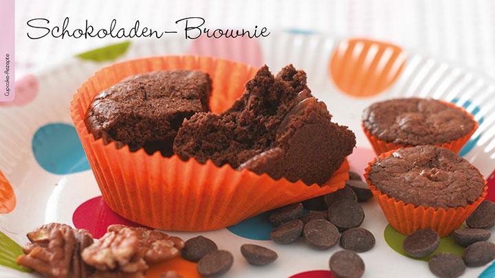 Kreativ-Ideen Fun Cupcakes Rezept Brownies