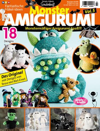U1 Fantastische Hakelideen Monster Amigurumi Vol5 0315