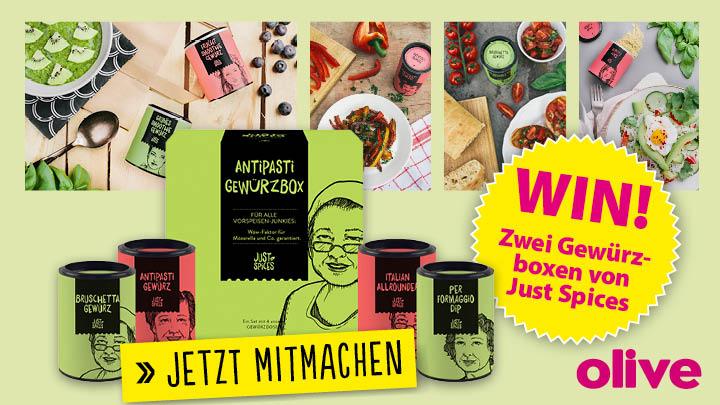 olive Kochmagazin Gewinnspiel 0216