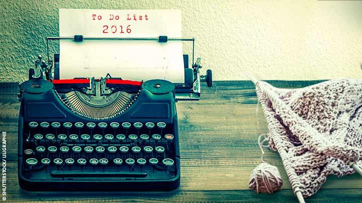 Titelbild Schreibmaschine To-Do-List