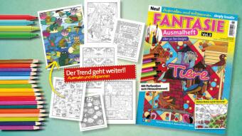 Blog Teaser Ausmalheft Fantasie Vol.3 Tiere 0116