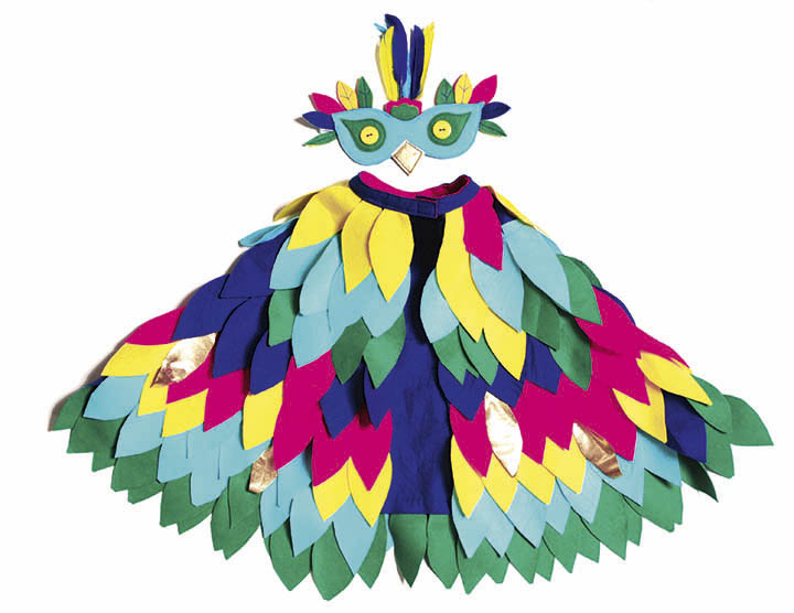 Paradiesvogel Kostüm
