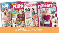 Überblick Simply Kreativ Nähmagazine