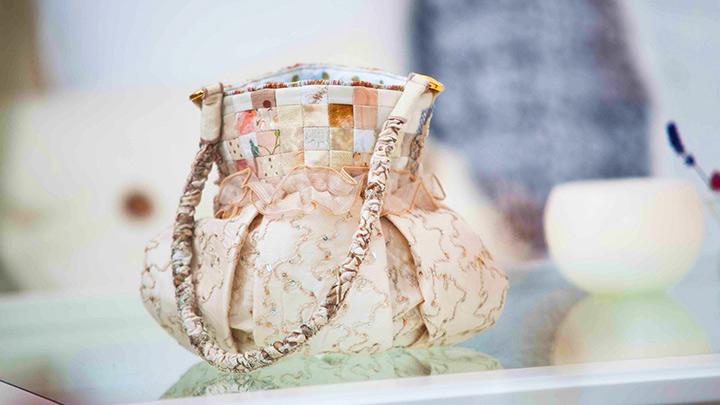 Tasche mit Quilters Grid von Vlieseline