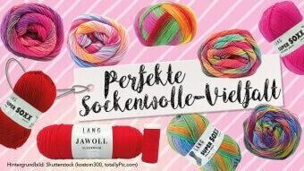 Die perfekte Sockenwolle für jeden Zweck gibt's bei Lang Yarns