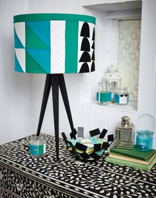 Retro Lampe Simply Kreativ Patchwork + Quilting