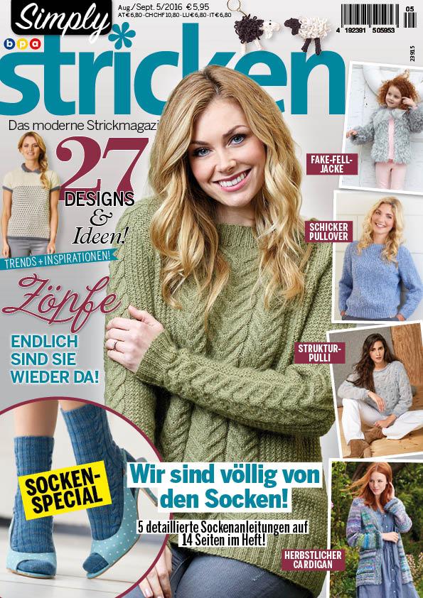 Simply Stricken Heft 05/2016