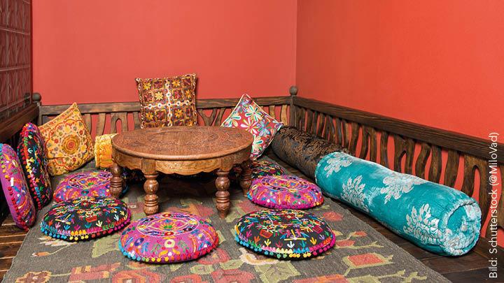 einrichtungsstil boho der vertr umte ethno mix simply kreativ. Black Bedroom Furniture Sets. Home Design Ideas