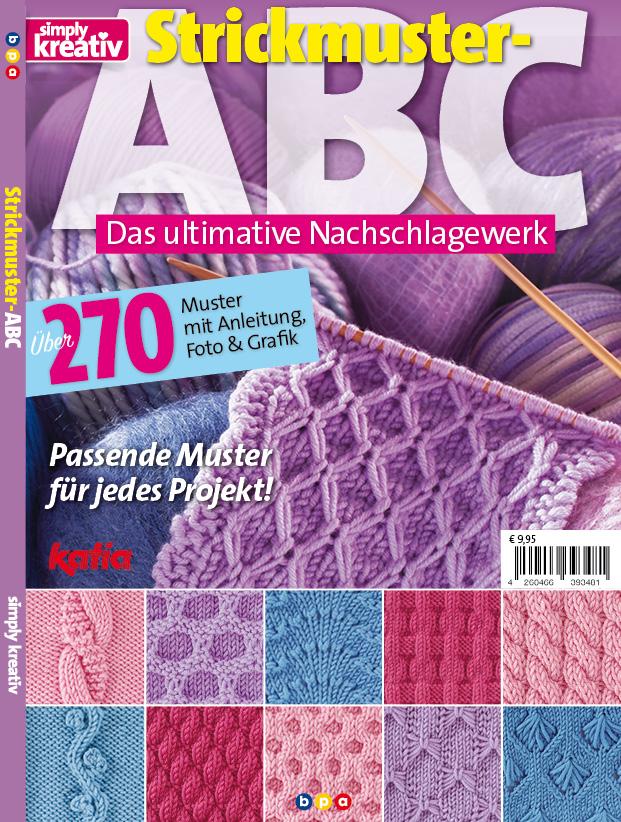 Simply Kreativ - Strickmuster-ABC - 01/2020