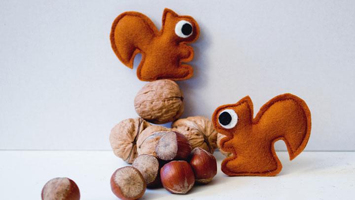 Fünf Fragen an Designerin Claudia Zechner von catmade Filztier Eichhorn