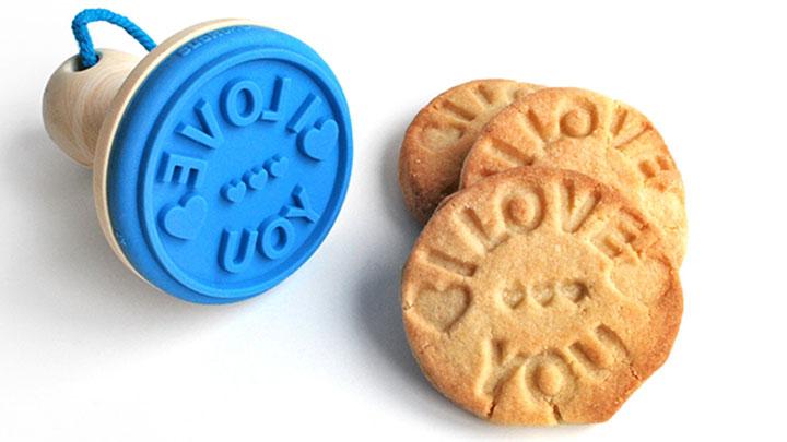 Coole Cookie Stempel zum Verzieren von Keksen