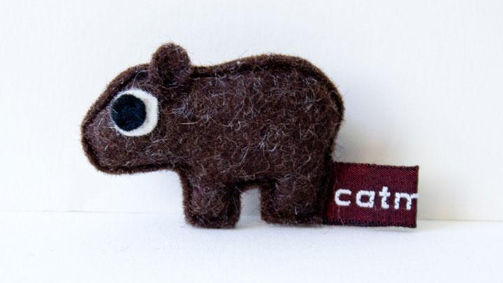 Fünf Fragen an Designerin Claudia Zechner von catmade Filztier Wombat