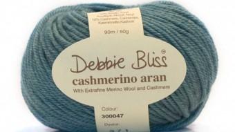 Debbie Bliss, Cashmerino Aran gibt es in 44 Farben.