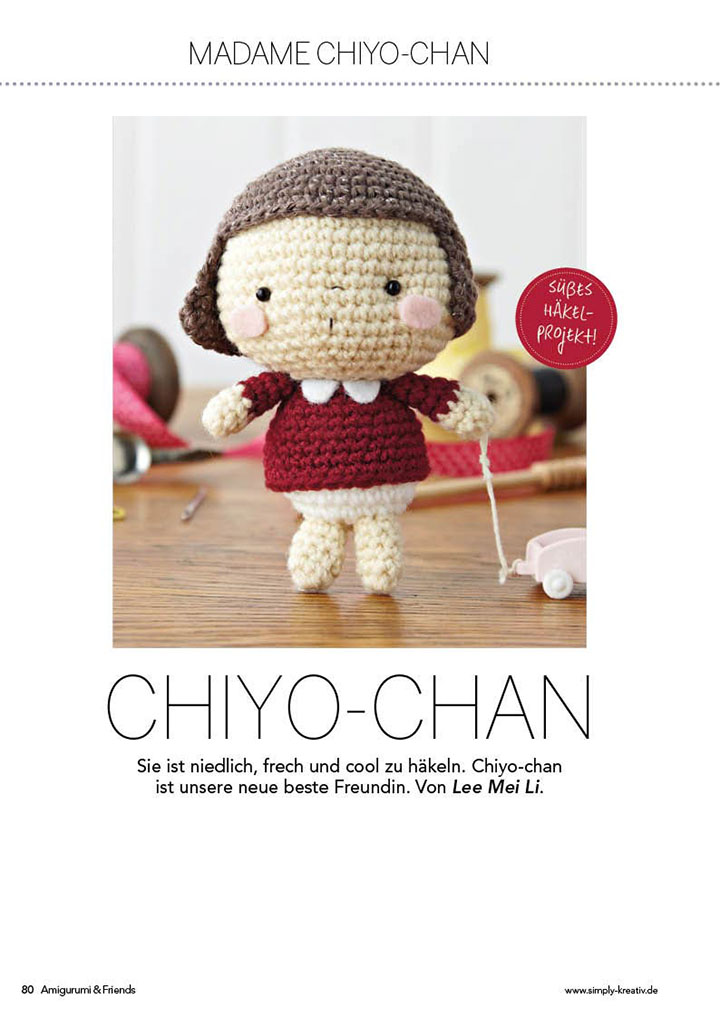 Die Inspiration für die süße Chiyo-Chan lieferte Ihre Tochter.