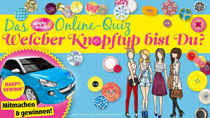 Simply Kreativ Knopf-Quiz
