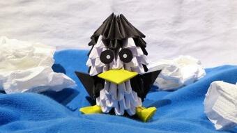 Kleiner Pinguin Origami Patrick Quarg