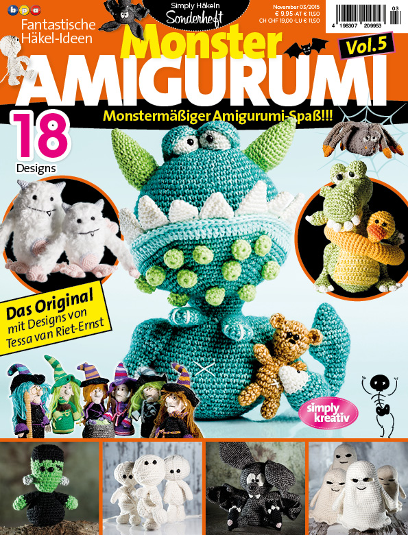 U1 Fantastische Häkelideen Monster Amigurumi Vol5 0315