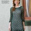 Häkelanleitung Grünes Longshirt Fantastische Häkel-Mode-Ideen 0515