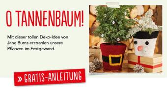 Simply Stricken Gratis Strick-Anleitung Weihnachtstöpfe