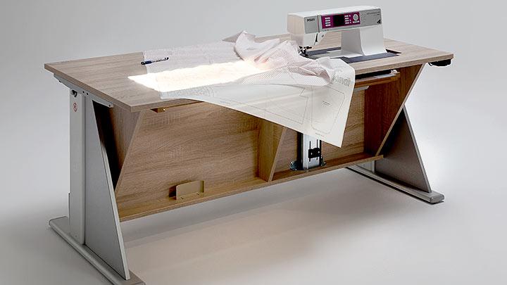 Titelbild RMF Rauschenberger Möbel mit Funktion Multitisch mit integrierter Leuchtfläche