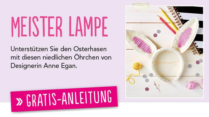 Hasen mit süßen Hasenohren häkeln - kostenlose Anleitung - Talu.de | 405x720
