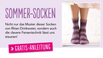 Gratis Socken-Anleitung Simply-Stricken 0614