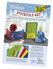 Stickfilz-Set Folia