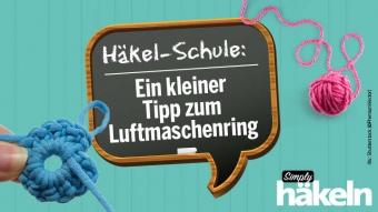 Haekelschule Ein Tipp zum Luftmaschenring Shutterstock PremiumVector