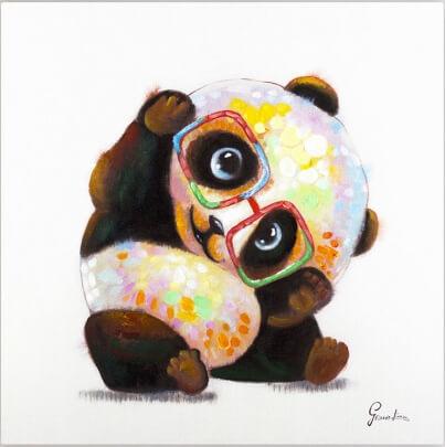kl00180-tier-bunt-panda-baer-brille-fuer-kinderzimmer-gemaelde-modern-acryl-09-2-Kopie