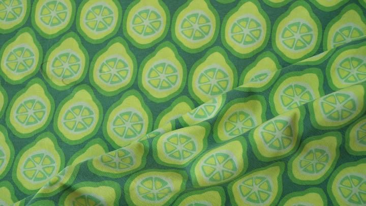 Stoff des Monats Lime von Dana Stoffregen-Weber