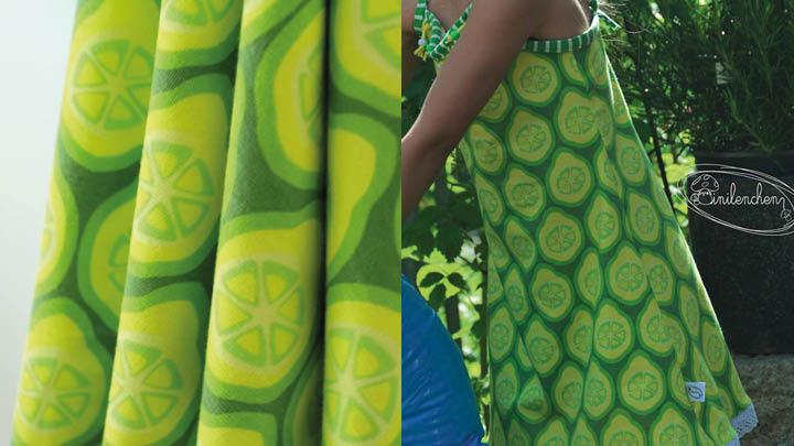Stoff Lime by Stoffregen