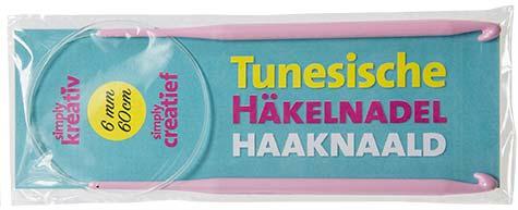 Tunesische Häkelnadel Beilage Simply Häkeln 05/2016