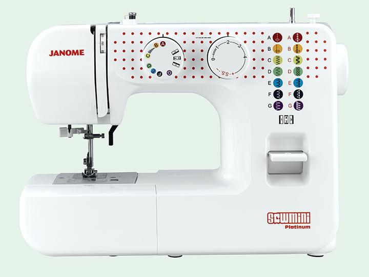 Naehmaschine Janome mechanisch