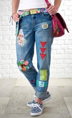 Jeansprojekt Simply Nähen Retro
