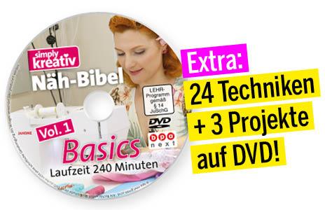Simply Kreativ Näh-Bibel Vol1 Nähkurse auf DVD