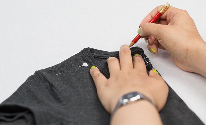 Schnittmuster abnehmen DIY Shirt 02