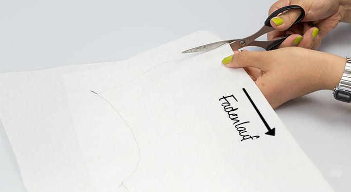 Schnittmuster abnehmen DIY Shirt07