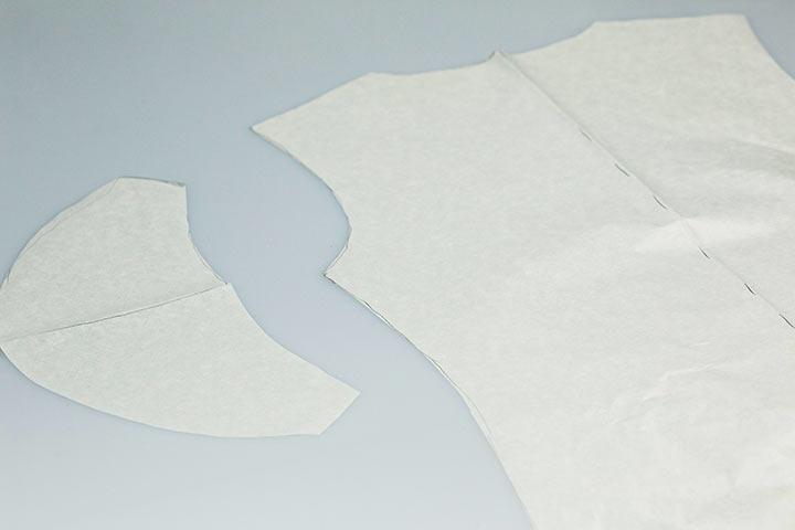 Schnittmuster abnehmen DIY Shirt09