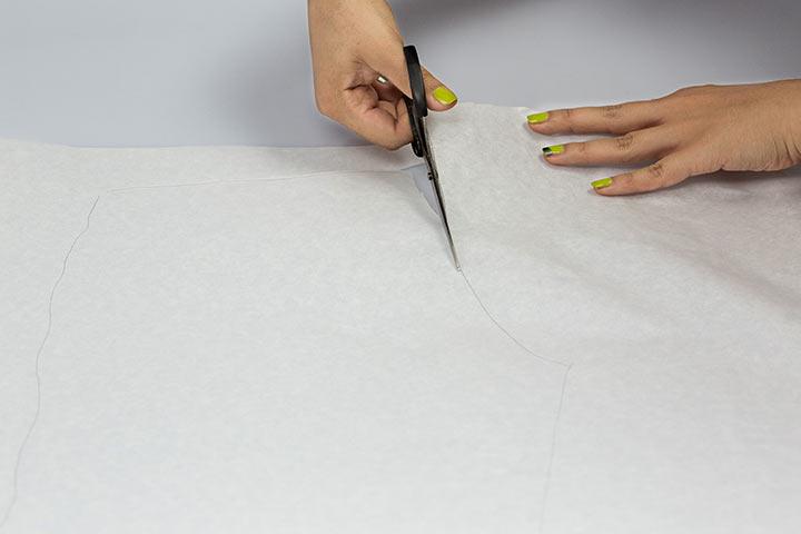Schnittmuster abnehmen DIY Hose02