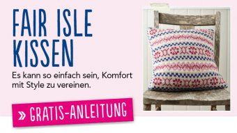Gratis Strickanleitung Fair Isle Kissen Simply Stricken 05/2014
