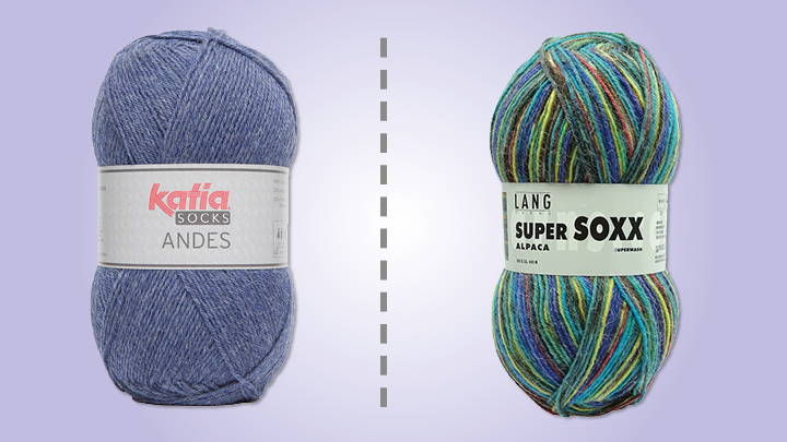 wie kommt man schönen Glanz abholen Alpaka goes Socken! Mit Lang Yarns und Katia | Simply Kreativ