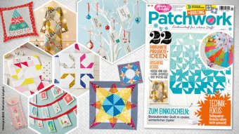 Simply Kreativ Patchwork + Quilting 01/2017