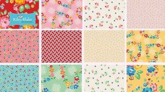 Stoff des Monats Arbor Blossom von ellis and higgs für Riley Blake Designs