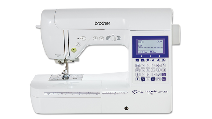 Brother Naehmaschine F420 Front