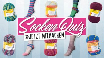 Teaser Simply Kreativ Socken-Quiz