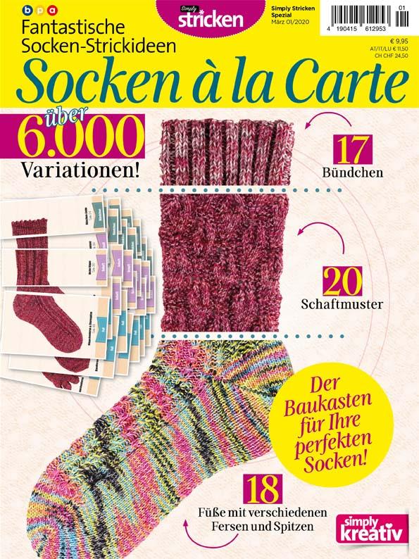 Simply Stricken Spezial: Socken à la Carte 01/2020