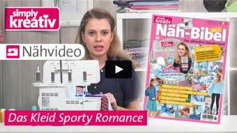 Nähvideo Nähbibel Vol. 6 Das Kleid Sporty Romance