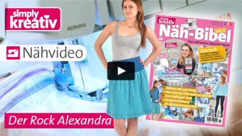 Nähvideo Näbibel Vol. 6 – Der Rock Alexandra