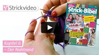 Strickvideo: Der Nahtrand - Kapitel 6 (Strick-Bibel Vol. 2)