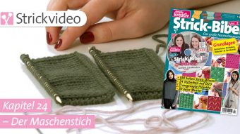 Strickvideo: Der Maschenstich - Kapitel 24 (Strick-Bibel Vol. 2)